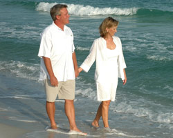 Nanci and her husband, Gary, enjoy surf fishing or just walking along the beautiful coast they feel so fortunate to call home.